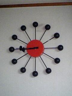 ボクの部屋の時計